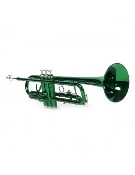 Brass B Flat Trumpet Gloves Set Green