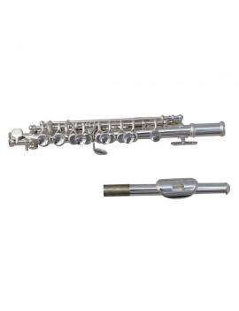 C Tone Cupronickel Piccolo Silver