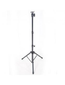 Adjustable Height Folding Music Stand Black